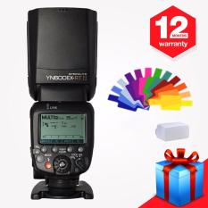 Yongnuo YN600EX-RT II Wireless Flash Speedlite TTL Master untuk Canon 70D 60D 50D 40D 30D with WINGONEER Diffuser Dan Filters - intl