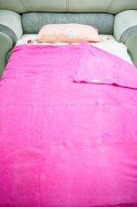 Dixon Selimut Dewasa 150x200 Polos Pink -Pink