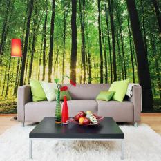 Hutan Giant 3D Dinding Mural Foto Wallpaper Non-woven TV Latar Belakang Dekorasi Kamar-Internasional