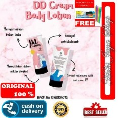 HOKI COD - Fleecy DD Cream / Befleecy DD Cream / 150ml / Original 100% Atau Uang Kembali Body Lotion Fair n Pink - Gratis Pulpen Lilin Unik Serba Guna - 1 Pcs