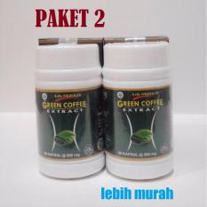 Kapsul Kopi Hijau Green Coffee Extract Ash-Shihhah - Herbal Pelangsing Alami - Paket 2
