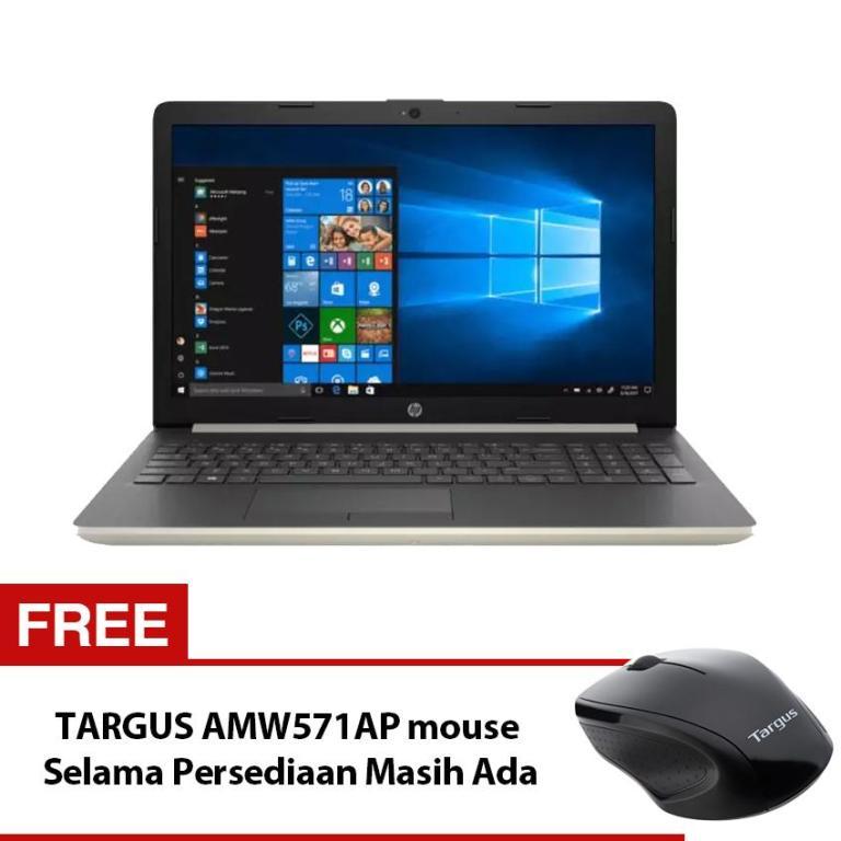 Promo Notebook Baru HP 14-cm0075AU - AMD Ryzen 5 2500U - 4 GB - 128GB SSD + 1TB 5400Rpm HDD - AMD Radeon™ Vega 8 - 14