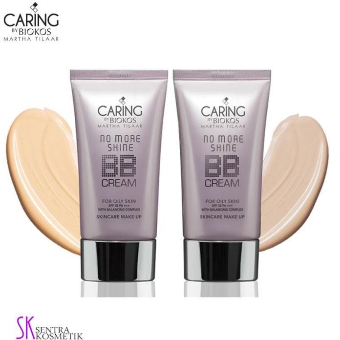 Caring By Biokos No More Shine BB Cream For Oily Skin SPF 35 PA+++ - 30gr