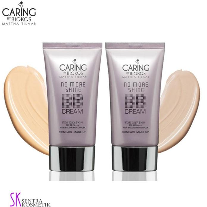 Caring By Biokos No More Shine BB Cream For Oily Skin SPF 35 PA+++ - 30gr