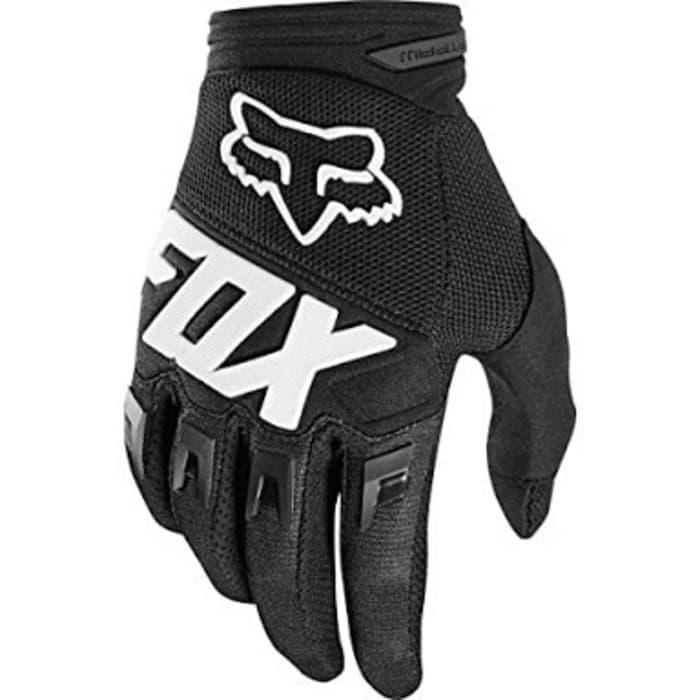 Original Sarung Tangan Fox Dirtpaw 2018 black glove fox dirtpaw hitam