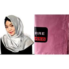 Azara Ferre Pashmina Satin Polos Blush Pink