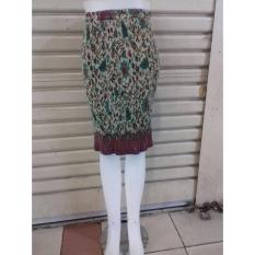 Cj colletion Rok span plisket pendek batik wanita jumbo mini skirt Ranisa