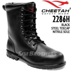 Promo Murah Sepatu Safety Shoes Cheetah 2286H - 9Lawav