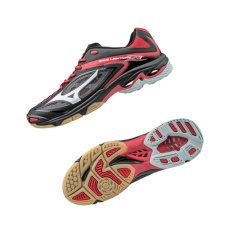 Sepatu voli Mizuno Wave Lightning Z3 - Black  White  Chinese Red
