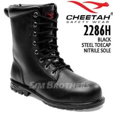 Super Promo Murah Sepatu Safety Shoes Cheetah 2286H - 9Lawav