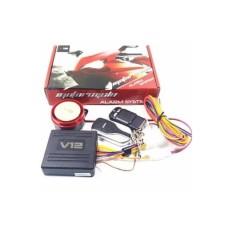 Alarm Motor Remote V12 Fitur Lengkap - Alarm Motor Antimaling - Anti Rampas - Sensor Getar V12 Vinyx