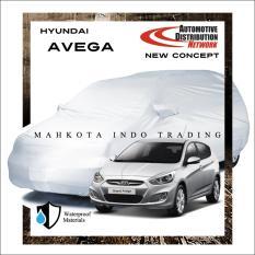 Custom Sarung Mobil Body Cover Penutup Mobil Hyundai Avega Fit On Car