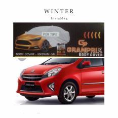 GRANPRIX Body Cover Mobil DAIHATSU AYLA/AGYA / Selimut Mobil / Pelindung Mobil / Body Cover Mobil