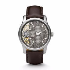 FOSSIL ME1098 - Twist - Multifunction - Jam Tangan Pria - Bahan Tali Leather - Coklat