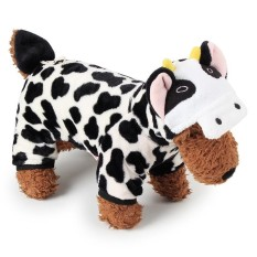 RHS Online Cow Hoodie Pet Dog Costume Clothes Pet Coat Sweater Size XL - intl