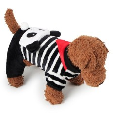 RHS Online Panda Hoodie Pet Dog Costume Clothes Pet Coat Sweater Size XS - intl