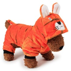 RHS Online Tiger Hoodie Pet Dog Costume Clothes Pet Coat Sweater Size S - intl