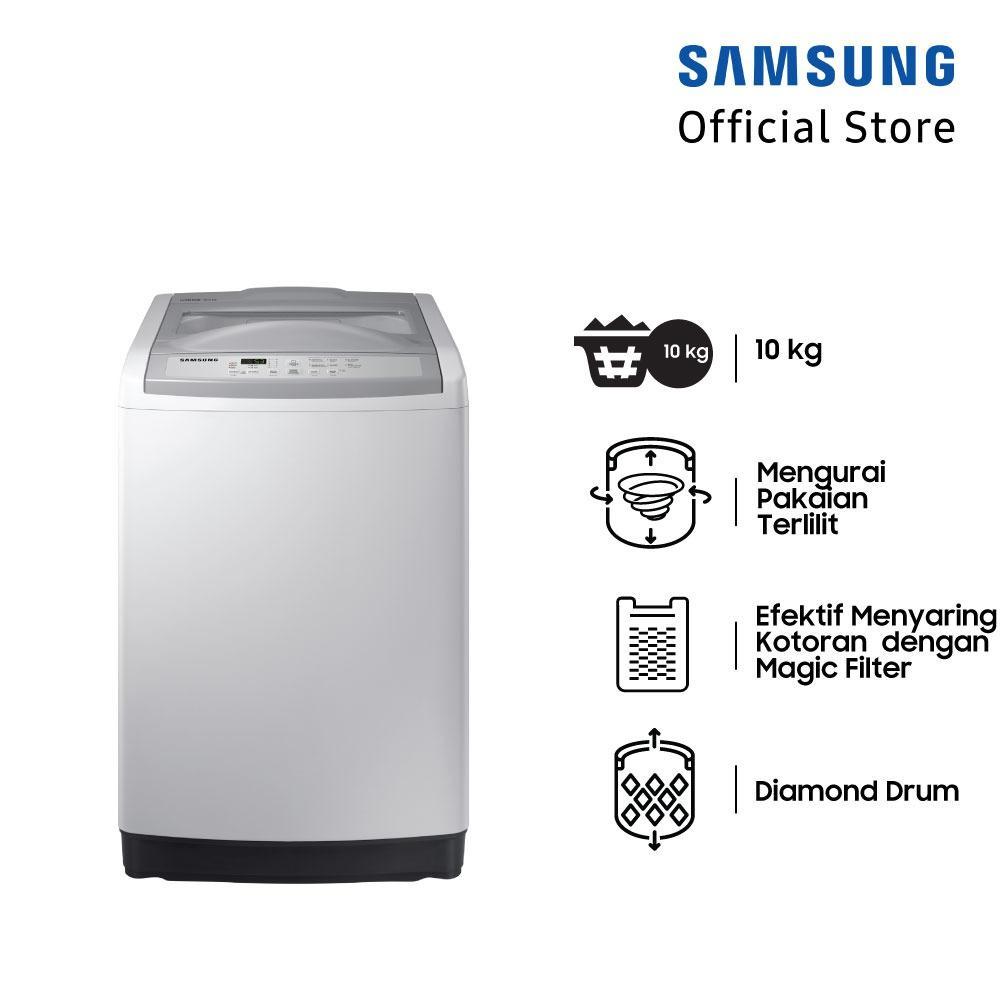 Samsung Mesin Cuci Top Loading dengan Diamond Drum, 11 Kg - WA10M5120SG