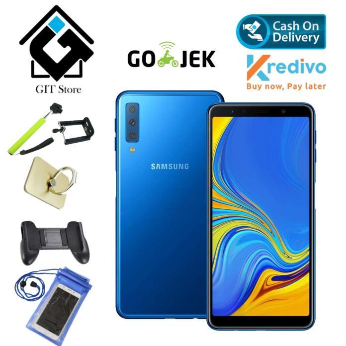 Samsung Galaxy A7 2018 Edition Smartphone [64GB/ 4GB] - Garansi Resmi Promo