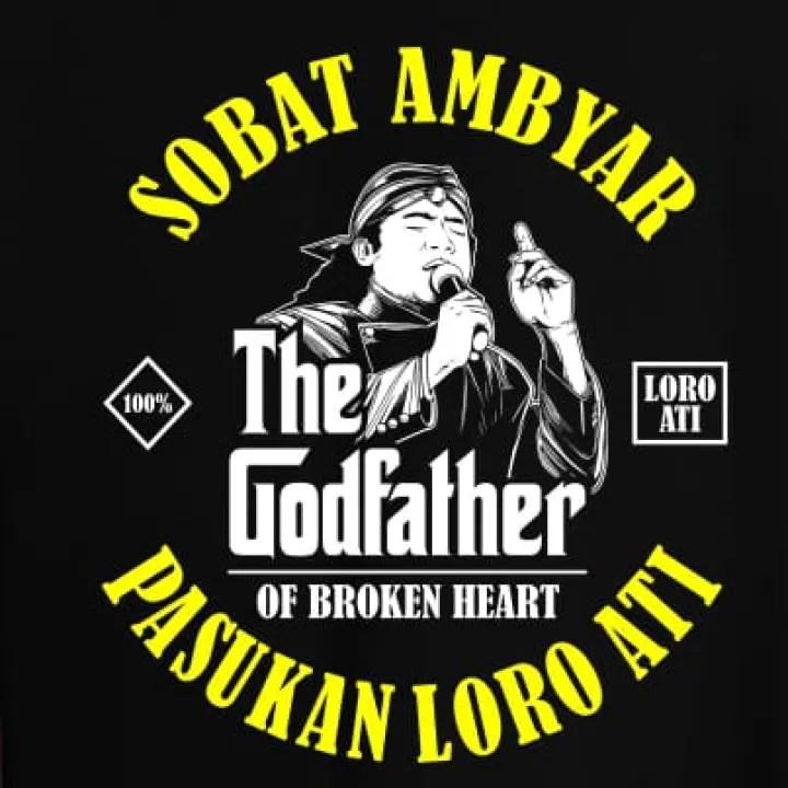 Jmhd Store Kaos T Shirt Kaos Sobat Ambyar Kaos Pasukan Patah Hati