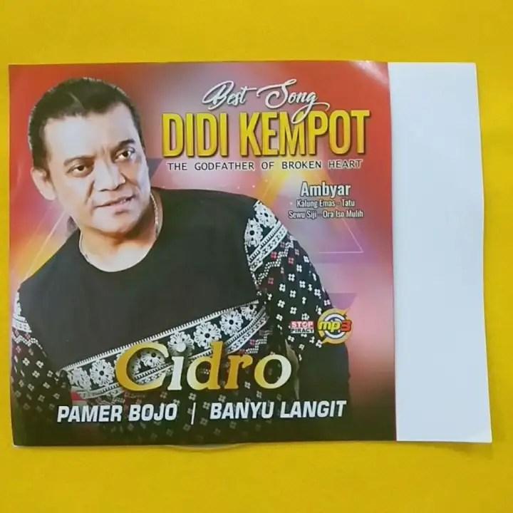 Kaset Lagu Lagu Populer Didi Kempot Terbaru Mp3 Lazada Indonesia
