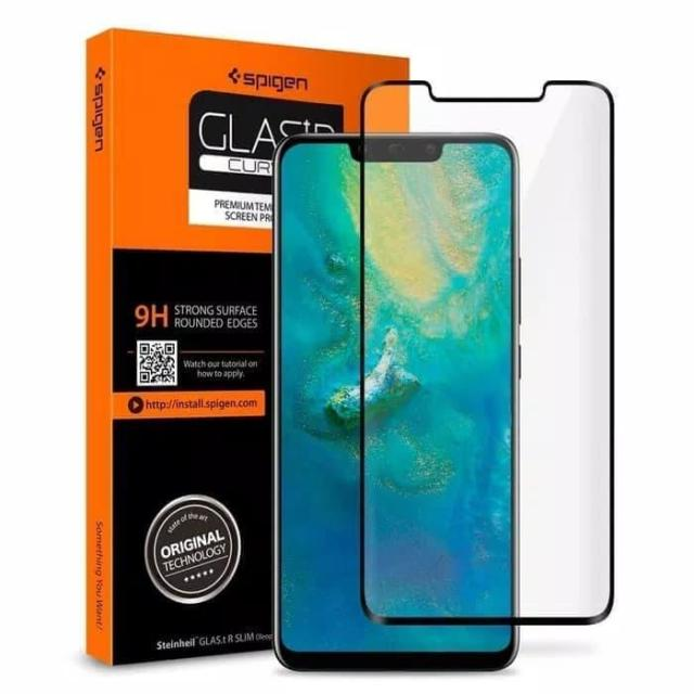 Tempered Glass Huawei Mate 20 Pro Spigen Glas tR ORIGINAL