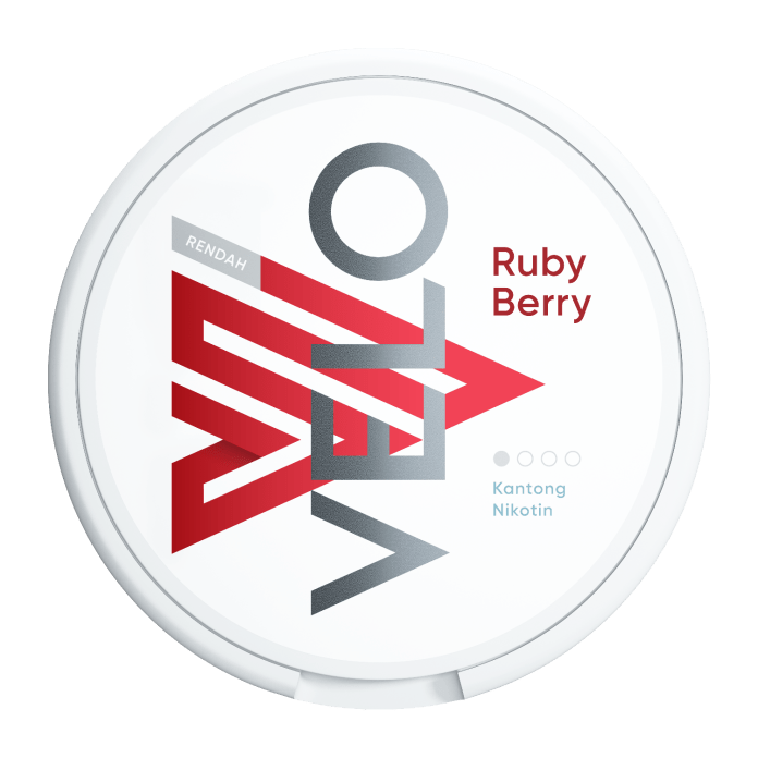 VELO Ruby Berry