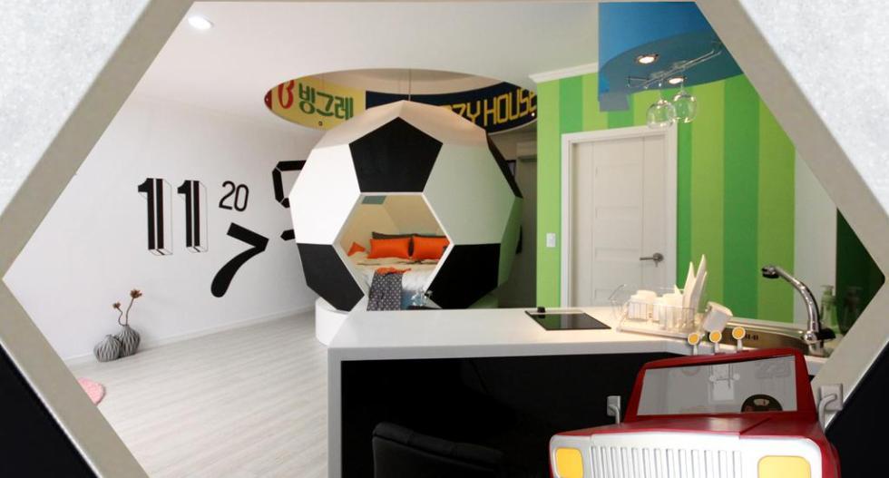 Ruang Bertema Sepak Bola
