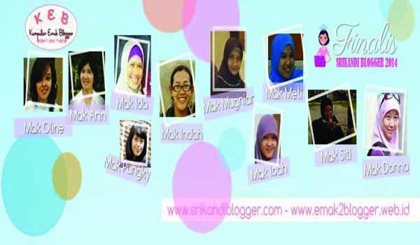 10 Finalis Srikandi Blogger 2014