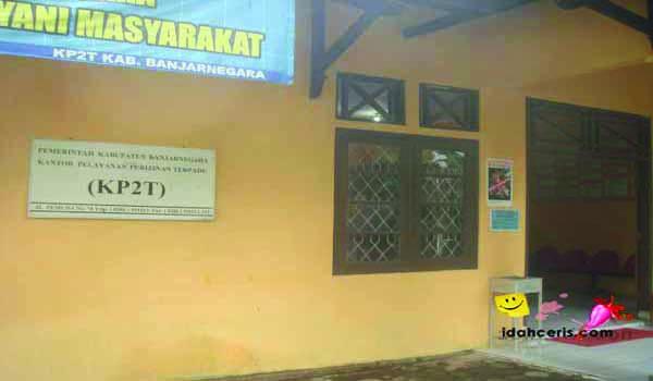 Kantor Pelayanan Perizinan Terpadu (KP2T)