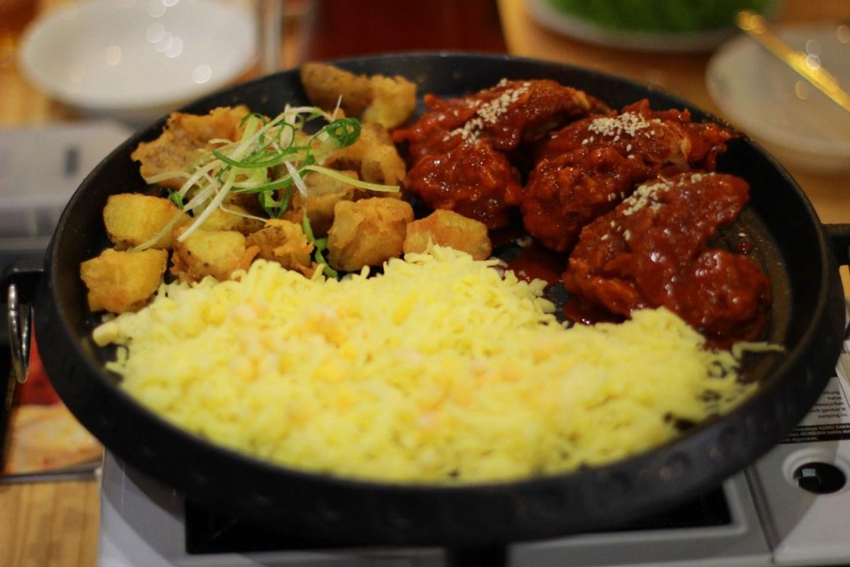 Masakan Korea di Purwokerto