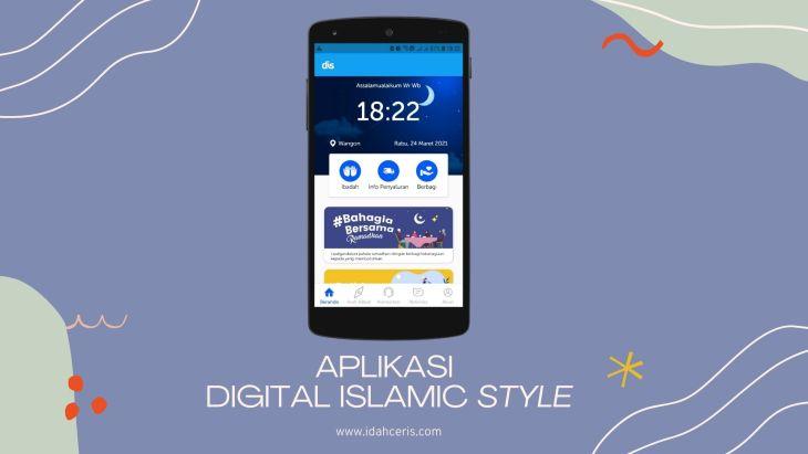 aplikasi digital islamic style rumah zakat