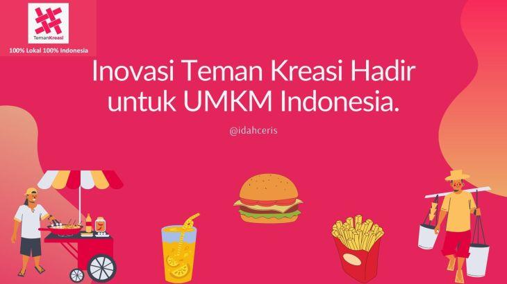 Inovasi Teman Kreasi Hadir untuk UMKM Indonesia.