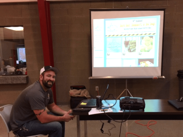 Hard Hats, Hammers & Hot Dogs event