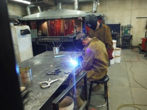 Idaho Youth ChalleNGe Academy welding