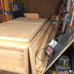 Cupboard and Shelves in Transit