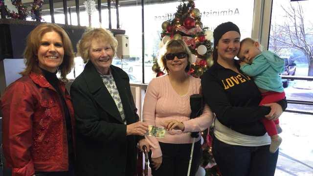 Davis Family Holiday Donation