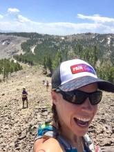 uphill selfie
