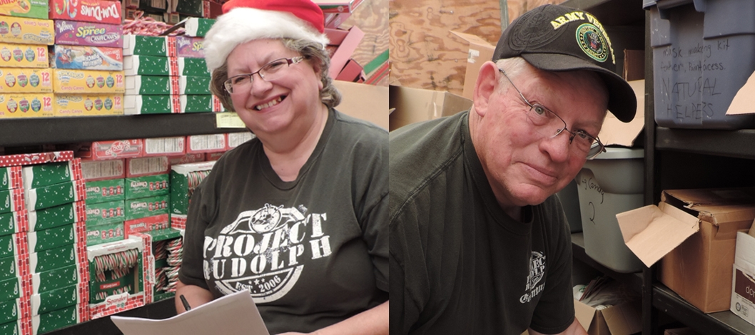 RAY & CHERI ARCHIBALD'S PROJECT RUDOLPH BRIGHTENS SOLDIERS' HOLIDAYS