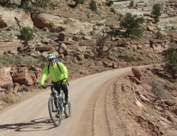 Wheeling on the White Rim Trail