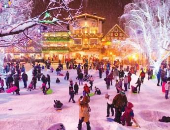 A Village of Lights: Leavenworth, Washington