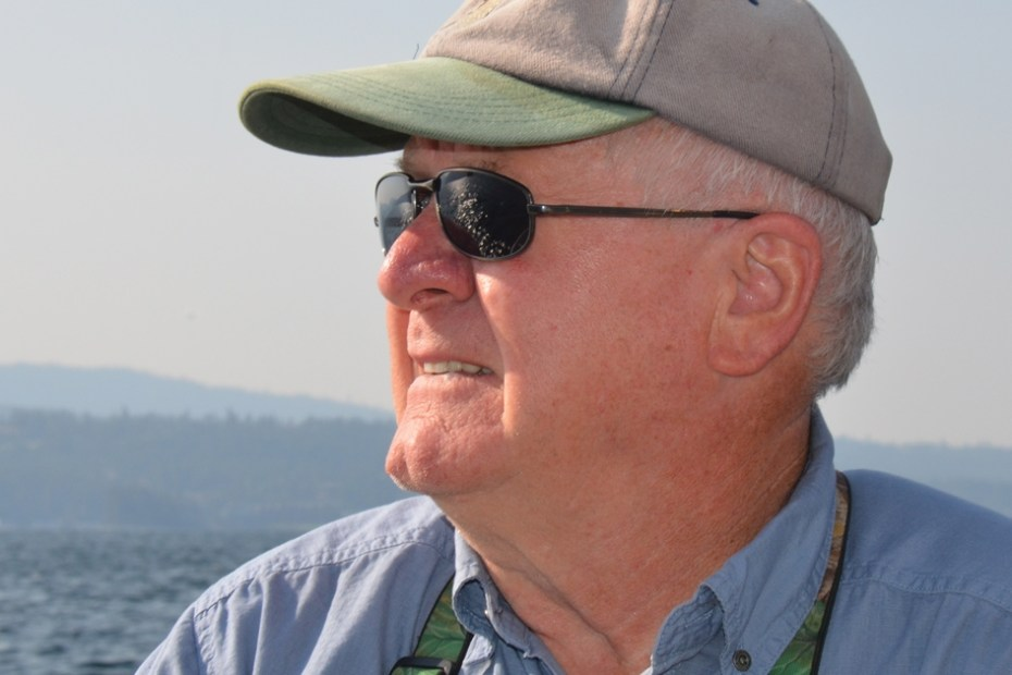 Traveling Wildlife Biologist Wayne Melquist