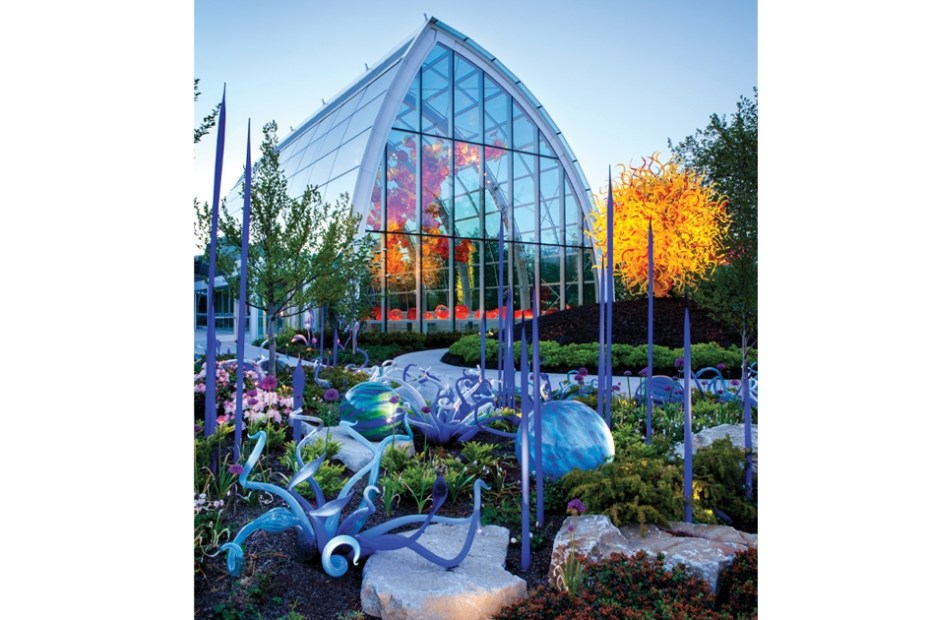 ISI - Chihuly Glass Exhibit