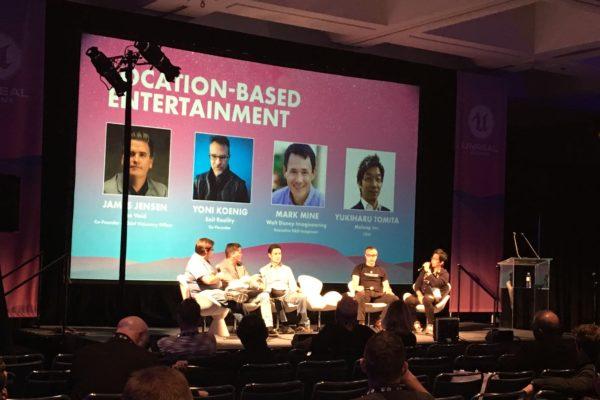 Location Based Entertainment Panel