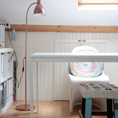 DIY: copper lamp