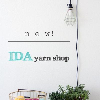 Coming soon: IDA yarn shop