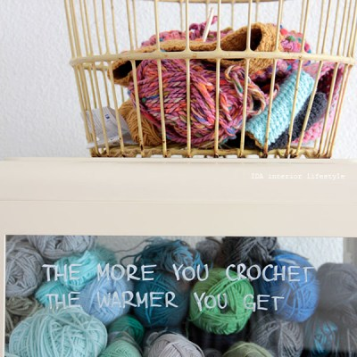 The more you crochet..