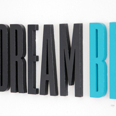 Baby room #13 {Design letters}