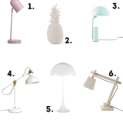 6 lamps for 1 corner