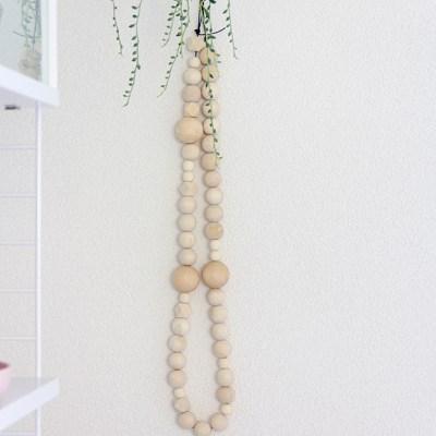 IDA wooden beads garlands